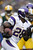 Adrian Peterson #28 of the Minnesota Vikings runs for a touchdown against the Green Bay Packers at Lambeau Field on December 2, 2012 in Green Bay, Wisconsin.  (Photo by Wesley Hitt/Getty Images)