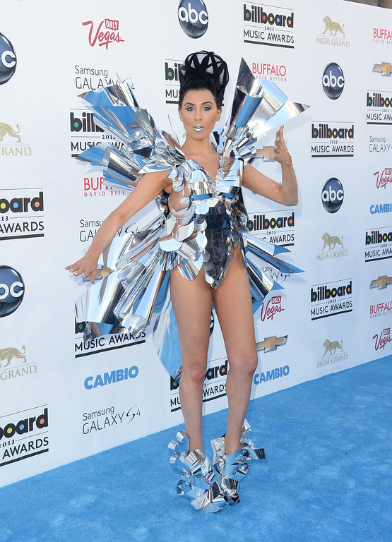 . Z LaLa arrives at the 2013 Billboard Music Awards at the MGM Grand Garden Arena on May 19, 2013 in Las Vegas, Nevada.  (Photo by Jason Merritt/Getty Images)