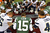 Quarterback Tim Tebow #15 the New York Jets leads a players prayer after their game against the San Diego Chargers at MetLife Stadium on December 23, 2012 in East Rutherford, New Jersey. The Chargers defeated the Jets 27-17. (Photo by Rich Schultz /Getty Images)