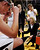 Colorado head coach Linda Lappe, right, talks with her team during a timeout against Wyoming during their NCAA college basketball game, Wednesday, Nov. 28, 2012, in Boulder, Colo. (AP Photo/The Daily Camera, Jeremy Papasso)