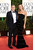 Actor George Clooney (L) and actress Stacy Keibler arrive at the 70th Annual Golden Globe Awards held at The Beverly Hilton Hotel on January 13, 2013 in Beverly Hills, California.  (Photo by Jason Merritt/Getty Images)