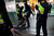 Policemen arrest a Spanish Airline Iberia worker during a protest against job cuts at Barajas Airport on February 18, 2013 in Madrid, Spain. Today is the first of a five day strike held by Iberia cabin crew, maintenance workers and ground staff in response to the planned loss of 3,800 jobs. The strike has resulted in the airline having to cancel 400 flights this week with unions planning a further five day strikes within a month.  (Photo by Pablo Blazquez Dominguez/Getty Images)
