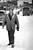Charles Bonniwell, walks westbound on Colfax Monday morning after the blizzard of '82 on his way to work from his home on Williams street east of Boradway. Bonniwell carried his dress shoes in his coat pockets. Eric Bakke,  The Denver Post