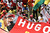 Workers gather for a tribute to Venezuela's late President Hugo Chavez during a march by the Central Labor Union in Brasilia, Brazil, Wednesday, March 6, 2013. Chavez, who died Tuesday at age 58, was seen as a hero by some for his socialist programs, his anti-U.S. rhetoric and gifts of cut-rate oil. Others considered him a bully who repressed his opponents. (AP Photo/Eraldo Peres)
