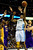 Denver Nuggets shooting guard Andre Iguodala (9) takes the ball up against Los Angeles Lakers center Dwight Howard (12) and power forward Pau Gasol (16) during the first half at the Pepsi Center on Wednesday, December 26, 2012. AAron Ontiveroz, The Denver Post