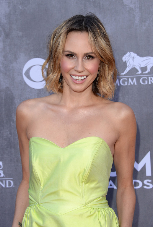 Description of . TV personality Keltie Knight attends the 49th Annual Academy Of Country Music Awards at the MGM Grand Garden Arena on April 6, 2014 in Las Vegas, Nevada.  (Photo by Jason Merritt/Getty Images)