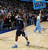 Memphis Grizzlies guard Tony Wroten heads off the court after the Denver Nuggets' 87-80 victory in an NBA basketball game in Denver, Friday, March 15, 2013. (AP Photo/David Zalubowski)