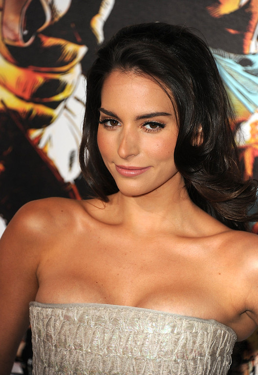 Description of . Actress Genesis Rodriguez arrives at the premiere of Lionsgate Films'