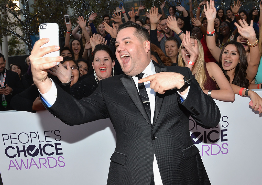 Description of . LOS ANGELES, CA - JANUARY 08:  TV personality Ross Mathews attends The 40th Annual People's Choice Awards at Nokia Theatre L.A. Live on January 8, 2014 in Los Angeles, California.  (Photo by Michael Buckner/Getty Images for The People's Choice Awards)
