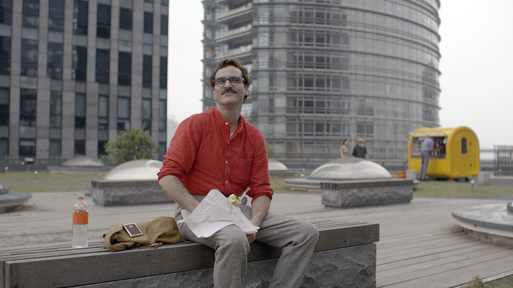 ". 2014 Academy Award Nominee for Best Production Design: ""Her.\"" (Provided by Warner Bros. Pictures)"