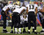 Drew Brees #9 of the New Orleans Saints talks in the huddle during the fourth quarter against the New York Giants on December 9, 2012 at MetLife Stadium in East Rutherford, New Jersey.  (Photo by Elsa/Getty Images)