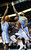 Oklahoma City Thunder forward Kevin Durant (35) is fouled as he drives between Denver Nuggets forward Kenneth Faried (35) and forward Wilson Chandler (21) in the fourth quarter of an NBA basketball game in Oklahoma City, Tuesday, March 19, 2013. Denver won 114-104. (AP Photo/Sue Ogrocki)