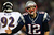 Tom Brady #12 of the New England Patriots reacts after a play against the Baltimore Ravens during the 2013 AFC Championship game at Gillette Stadium on January 20, 2013 in Foxboro, Massachusetts.  (Photo by Elsa/Getty Images)
