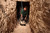 A boy makes preparations in a cave under his house to be used as a shelter in Kafruma, an area in the province of Idlib October 26, 2012. Picture taken October 26, 2012. REUTERS/Giath Taha