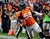 Denver Broncos outside linebacker Von Miller #58 runs in for a touchdown during the third quarter.  The Denver Broncos vs The Tampa Bay Buccaneers at Sports Authority Field Sunday December 2, 2012. Tim Rasmussen, The Denver Post