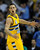 Denver forward Danilo Gallinari (8) reacted after sinking a shot in the second half. The Denver Nuggets defeated the San Antonio Spurs 112-106 at the Pepsi Center Tuesday night, December 18, 2012. Karl Gehring/The Denver Post