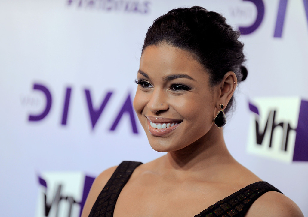 Description of . Jordin Sparks arrives at VH1 Divas on Sunday, Dec. 16, 2012, at the Shrine Auditorium in Los Angeles. (Photo by Jordan Strauss/Invision/AP)