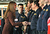 Catherine, Duchess of Cambridge meets members of Green Watch at the station as she visits Humberside Fire and Rescue Peaks Lane Fire Station on March 5, 2013 in Grimsby, England.  (Photo Bruce Adams  - WPA Pool/Getty Images)