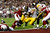 Quarterback Ben Roethlisberger #7 of the Pittsburgh Steelers dives into the endzone for a touchdown in the first quarter but the play was ruled no touchdown on a coaches' challenge against the Arizona Cardinals during Super Bowl XLIII on February 1, 2009 at Raymond James Stadium in Tampa, Florida.  (Photo by Streeter Lecka/Getty Images)