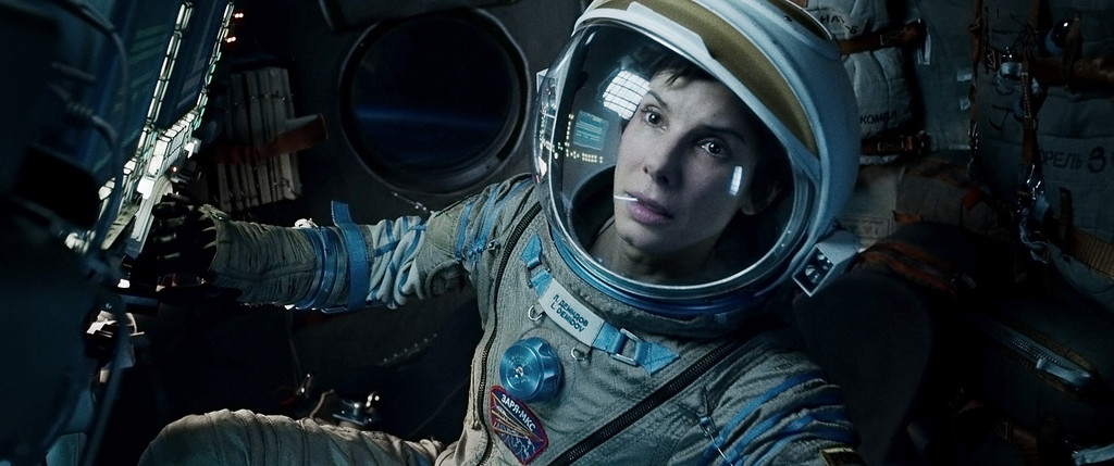 ". 2014 Academy Award Nominee for Best Cinematography: ""Gravity.\"" (AP Photo/Warner Bros. Pictures, File)"