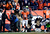 Denver Broncos wide receiver Brandon Stokley (14) celebrates after scoring the Broncos second touchdown in the first quarter.  The Denver Broncos vs Baltimore Ravens AFC Divisional playoff game at Sports Authority Field Saturday January 12, 2013. (Photo by John Leyba,/The Denver Post)