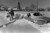 Herb Schneider trying to dig out his car. He would dig a little and then with chains on he would drive forward. Getting out was slow but he was making it until his chains broke. He decided they would just have to come and tow it out. Dave Buresh, The Denver Post  blizzards Denver Christmas blizzard of 1982  Credit: The Denver Post