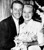 Singer Patti Page, 29, and choreographer Charles O'Curran, 42, pose after  their marriage at a friend's home in Las Vegas, Nev., Dec. 28, 1956.  (AP Photo)