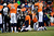 Denver Broncos quarterback Peyton Manning (18) fumbles the ball in the third quarter but the play is called back for a penalty on the Ravens. The Denver Broncos vs Baltimore Ravens AFC Divisional playoff game at Sports Authority Field Saturday January 12, 2013. (Photo by AAron  Ontiveroz,/The Denver Post)