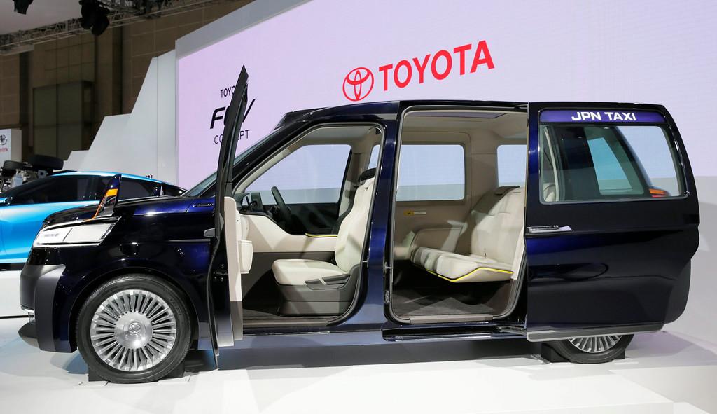 Description of . Toyota Motor Corp. unveils its JPN TAXI Concept at the 43rd Tokyo Motor Show 2013 in Tokyo, Japan, 20 November 2013.   EPA/KIMIMASA MAYAMA