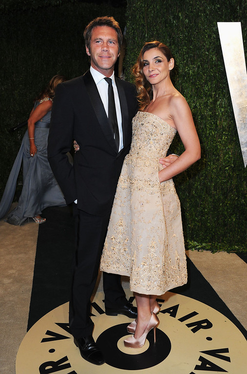 Description of . Prince Emanuele Filiberto di Savoia and Princess Clotilde Courau arrive at the 2013 Vanity Fair Oscar Party hosted by Graydon Carter at Sunset Tower on February 24, 2013 in West Hollywood, California.  (Photo by Pascal Le Segretain/Getty Images)