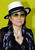 Artist Yoko Ono, poses during a performance at the Portikus exhibition hall in Frankfurt, western Germany, on Tuesday, May 31, 2005 where she presented her 