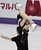 Marissa Castelli and Simon Shnapir of the USA skate their short program in the pairs competition at the 2013 World Figure Skating Championships in London, Ontario, March 13, 2013.  GEOFF ROBINS/AFP/Getty Images
