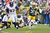 Jared Allen #69 of the Minnesota Vikings intercepts a pass that was negated by a penalty against the Green Bay Packers during the game at Lambeau Field on December 2, 2012 in Green Bay, Wisconsin. The Packers won 23-14. (Photo by Joe Robbins/Getty Images)