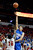 Air Force's Taylor Broekhuis shoots over UNLV's Anthony Bennett during the first half of a Mountain West Conference tournament NCAA college basketball game on Wednesday, March 13, 2013, in Las Vegas. (AP Photo/Isaac Brekken)