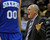 DENVER, CO. - MARCH 21: Denver coach George Karl complained about a call in the second half. The Denver Nuggets defeated the Philadelphia 76ers 101-100 Thursday night, March 21, 2013 at the Pepsi Center. The Nuggets are on a 14-game record winning streak that is a team record. (Photo By Karl Gehring/The Denver Post)