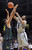BOULDER, CO. - MARCH 7: Colorado forward Xavier Johnson (2) challenged Oregon forward Arsalan Kazemi (14) in the second half. The University of Colorado men's basketball team defeated Oregon 76-53 Thursday night, March 7, 2013 at the CU Events Center in Boulder. (Photo By Karl Gehring/The Denver Post)