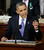 President Barack Obama gestures while giving his State of the Union address during a joint session of Congress on Capitol Hill in Washington, Tuesday Feb. 12, 2013. (AP Photo/Pablo Martinez Monsivais)