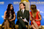 Actors Megan Fox, Ed Helms, and Jessica Alba onstage during the 70th Annual Golden Globes Awards Nominations at the Beverly Hilton Hotel on December 13, 2012 in Los Angeles, California.  (Photo by Kevin Winter/Getty Images)