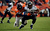 Denver Broncos outside linebacker Von Miller (58) takes down Baltimore Ravens running back Ray Rice (27) in the first half.  The Denver Broncos vs Baltimore Ravens AFC Divisional playoff game at Sports Authority Field Saturday January 12, 2013. (Photo by Hyoung Chang,/The Denver Post)