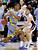 Gonzaga's Mike Hart (30) knocks the ball from Southern University's Malcolm Miller (33) in the first half during a second-round game in the NCAA college basketball tournament in Salt Lake City, Thursday, March 21, 2013. (AP Photo/Rick Bowmer)