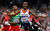 Britain's Mo Farah reacts as he wins the men's 5000m final at the London 2012 Olympic Games at the Olympic Stadium August 11, 2012.  REUTERS/Lucy Nicholson