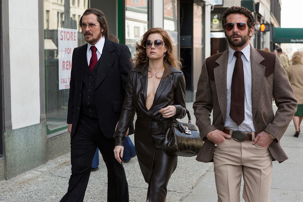 ". 2014 Academy Award Nominee for Best Picture: ""American Hustle.\"" (AP Photo/Sony - Columbia Pictures, Fran�ois Duhamel, File)"