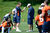 Denver Broncos quarterback Peyton Manning (18) talks with coach Adam Gase during mini camp Thursday, June 14, 2012 at Dove Valley. John Leyba, The Denver Post