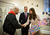 Catherine, Duchess of Cambridge and Prince William, Duke of Cambridge receive a painting from former shelter guest Twig during their visit at 'Jimmy's', a night shelter, on November 28, 2012 in Cambridge, England.  (Photo by Paul Rogers - Getty Images)