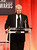 Presenter Gary Ross onstage during the 15th Annual Costume Designers Guild Awards with presenting sponsor Lacoste at The Beverly Hilton Hotel on February 19, 2013 in Beverly Hills, California.  (Photo by Jason Merritt/Getty Images for CDG)