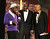 From left, Wyclef Jean and Sidney Poitier present the Spingarn award to Harry Belafonte at the 44th Annual NAACP Image Awards at the Shrine Auditorium in Los Angeles on Friday, Feb. 1, 2013. (Photo by Matt Sayles/Invision/AP)