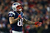 Aaron Hernandez #81 of the New England Patriots reacts after a catch in the third quarter against the Houston Texans during the 2013 AFC Divisional Playoffs game at Gillette Stadium on January 13, 2013 in Foxboro, Massachusetts.  (Photo by Elsa/Getty Images)