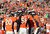 Denver Broncos strong safety Mike Adams (20) congratulates Denver Broncos outside linebacker Von Miller (58) in the second quarter as the Denver Broncos took on the Kansas City Chiefs at Sports Authority Field at Mile High in Denver, Colorado on December 30, 2012. Joe Amon, The Denver Post
