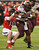 Minnesota's Rodrick Williams (35) runs past Texas Tech's Cody Davis (16) during the first quarter of the Meineke Car Care Bowl NCAA college football game, Friday, Dec. 28, 2012, in Houston. (AP Photo/Dave Einsel)