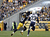 Mike Wallace #17 of the Pittsburgh Steelers can't make a catch against Quentin Jammer #23 of the San Diego Chargers during the game on December 9, 2012 at Heinz Field in Pittsburgh, Pennsylvania.  (Photo by Justin K. Aller/Getty Images)